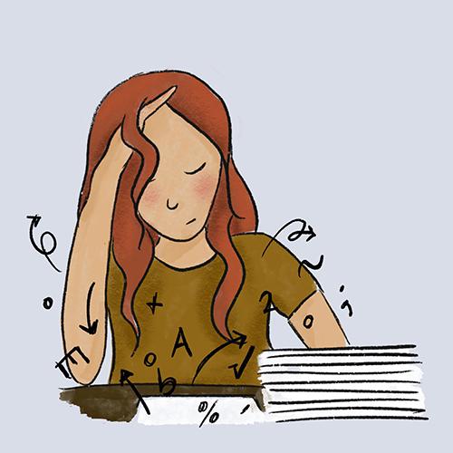 Studeren aandacht vasthouden